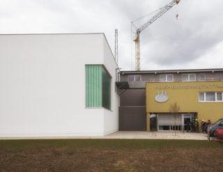 Halle 2 im Trainingszentrum Baden