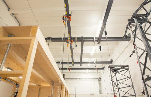 Trainingszentrum Innsbruck Stahlkonstruktionen